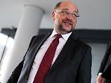 Gespräch bei Steinmeier: Schulz versucht's mit Gemütlichkeit