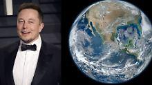 """Erde ist flach, Mars aber rund: Verschwörer """"belehren"""" Elon Musk"""