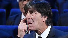 WM-Auslosung im RE-Live: Bundestrainer Löw ist mit Gruppe zufrieden