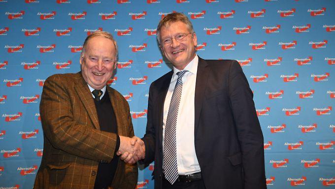 AfD-Spitze: Alexander Gauland (links) und Jörg Meuthen.