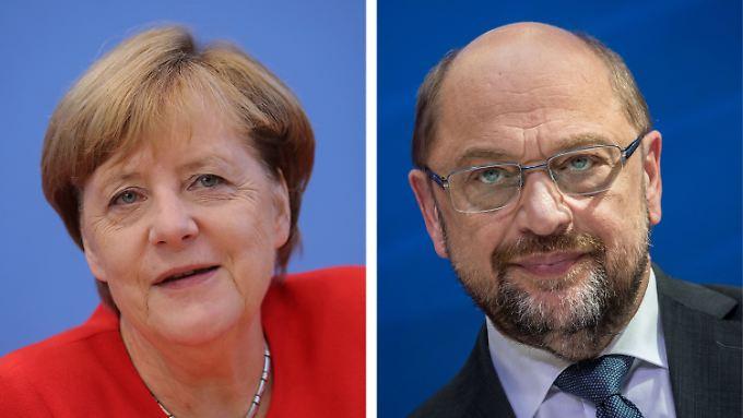 In den kommenden Wochen verhandeln Merkel und Schulz darüber, ob und wie sie eine Regierung bilden wollen beziehungsweise können.