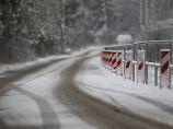 Schnee und Kälte in Deutschland: Wintereinbruch fordert zwei Todesopfer