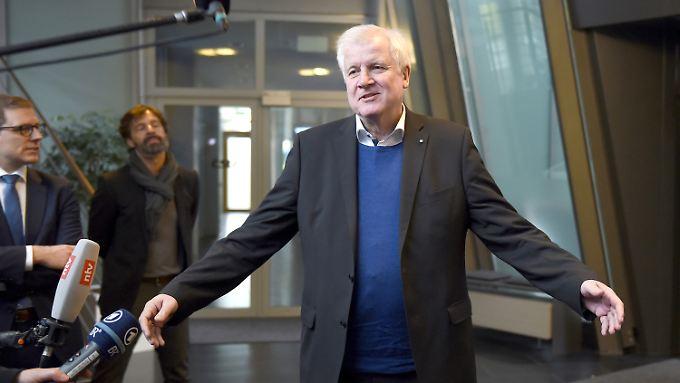 """Bald nur noch CSU-Chef?: Seehofer spricht von """"Konsensvorschlag"""""""