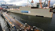 Von Rostock nach Papenburg: Neue Aida-Generation entsteht in Meyer-Werft