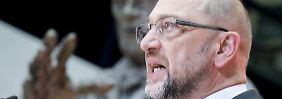 Ergebnisoffen miteinander reden: SPD-Führung will Gespräche empfehlen