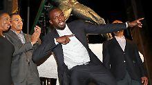 Der Sport-Tag: Jamaika ehrt Legende Bolt mit riesiger Bronzestatue