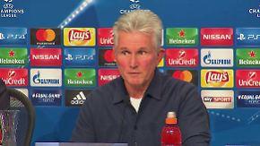 """Heynckes zur CL gegen PSG: """"Man sollte realistisch bleiben"""""""