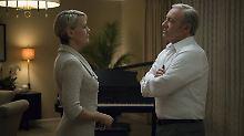 """Finale Staffel mit Überraschung: """"House of Cards"""" geht ohne Spacey weiter"""