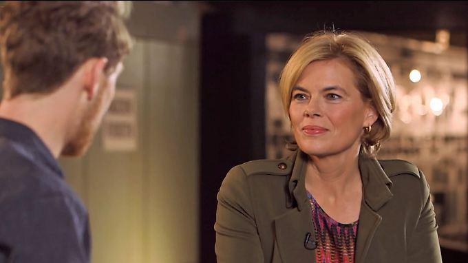 """Julia Klöckner bei """"Klamroths Konter"""": """"Berlin ist als Hauptstadt manchmal ziemlich provinziell"""""""
