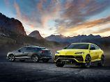 Eigentlich ist der Lamborghini Urus ein Audi Q8 nur viel, viel teurer.