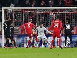 Schoss das Tor zum 1:0: Robert Lewandowski