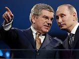 Härte und Hintertürchen: Bachs IOC wirft Russland raus, aber …