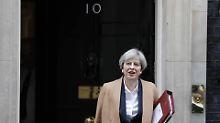 Attentatspläne in Großbritannien: Anschlag auf May offenbar verhindert