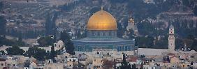 Alle Fragen, alle Antworten: Die brisante Jerusalem-Entscheidung Trumps