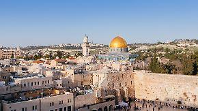 Arabische Welt in Aufruhr: Trump will US-Botschaft nach Jerusalem verlegen