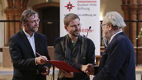 Nach drei Monaten Haft in der Türkei: Steudtner mit Friedenspreis ausgezeichnet