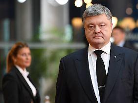 Unter Druck: Petro Poroschenko.