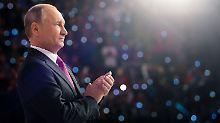 Kandidatur bei Wahl 2018: Putin will Russlands Präsident bleiben