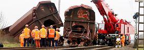Unglück bei Neuss: Regionalzug befuhr falschen Abschnitt