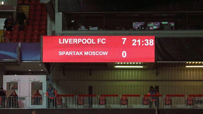 So deutlich enden Spiele an der Anfield Road eher selten.