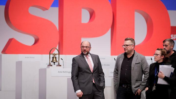 """Das neue Motto von Martin Schulz und der SPD: """"Unser Weg: Mordern und gerecht."""""""