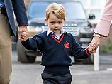 Erste Schauspielerfahrungen: Prinz George, du Schaf!