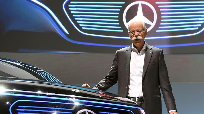 Autobau im Aufwind: Daimler-Chef Dieter Zetsche, hier im Februar 2017.