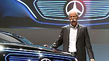 Kräftiges Plus beim Pkw-Verkauf: Daimler verbucht starken November