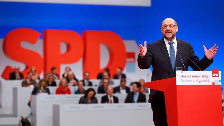 Schulz wirbt um Vertrauen