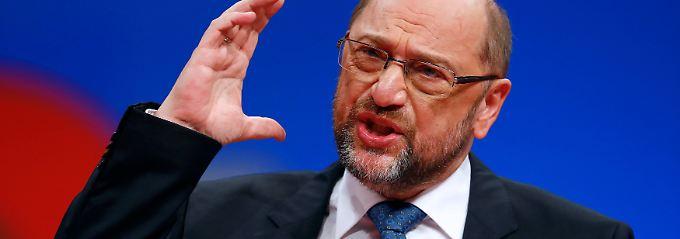 Europäische Union vor dem Aus: Schulz will Vereinigte Staaten von Europa