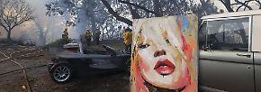 """""""Explodierende"""" Brände in L.A.: Promis flüchten vor Flammeninferno"""