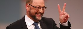 Mit großer Stimmen-Mehrheit: SPD bestätigt Schulz als Parteichef