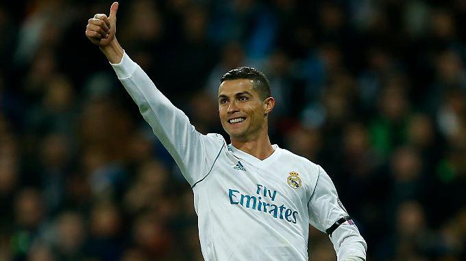 Ronaldo gewinnt den Goldenen Ball bereits zum fünften Mal.