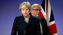 Der Tag: May reist kurzfristig zu Brexit-Gesprächen in Brüssel