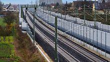 ICE-Neubautrasse in Oberfranken.