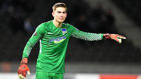 Profi-Debüt bei Hertha: Klinsmann-Sohn hält im ersten Pflichtspiel Elfmeter