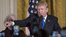 Gesündester Präsident der Welt?: Trumps Arztbericht soll veröffentlicht werden