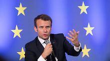 """Der """"Boss"""" braucht keinen Schlaf: Macron - ein Staatschef im Laufschritt"""