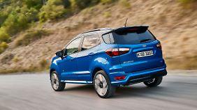 Ein Familienauto wird auch aus dem neuen Ford Ecosport nicht.