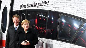 Vier Stunden Fahrzeit: Bahn eröffnet Schnellstrecke zwischen Berlin und München