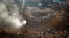 Zwei Tote, 15 Verletzte: Israel greift Hamas im Gazastreifen an