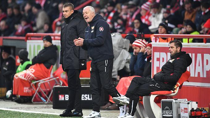 Niederlage mit den Köpenickern: André Hofschneider.