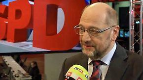 """Martin Schulz im n-tv Interview: """"Einer der schwierigsten Parteitage, die ich erlebt habe"""""""
