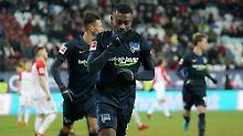 Herthas Auswärtsserie hält: Berlins Kalou bestraft wuchernde Augsburger