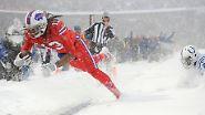 Showdown-Chaos in der NFL: Buffalo Bills gewinnen irre Schnee-Schlacht