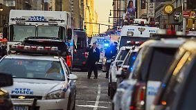 Terrorverdächtiger festgenommen: Explosion erschüttert New Yorker Stadtteil Manhattan