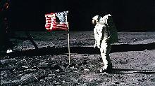 """""""Nicht nur Flaggen aufstellen"""": Trump will US-Amerikaner auf Mond und Mars"""
