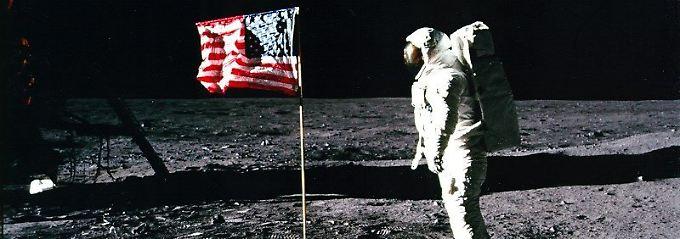 """""""Nicht nur Flaggen aufstellen"""": Trump will Amerikaner auf Mond und Mars"""