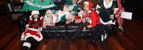 """""""Santas ungezogener Elf"""": Lady Gaga macht heiß auf Weihnachten"""