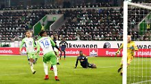 Der Sport-Tag: Fußball-Irrsinn: Wolfsburgs Origi vergibt aus drei Metern